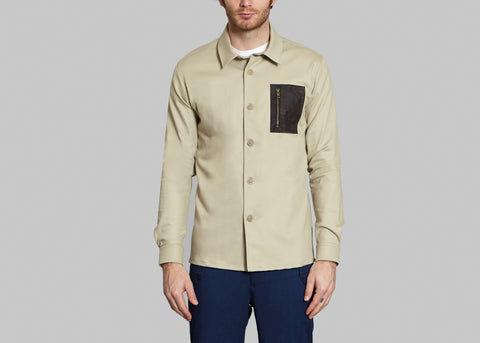 Zip Overshirt 49751