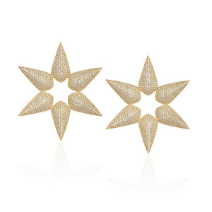 Clèofe Star Earrings