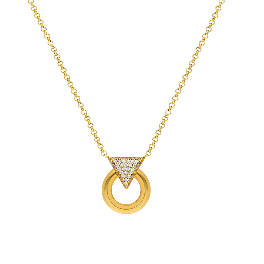 delicate chain, sterling silver necklace in gold plated
