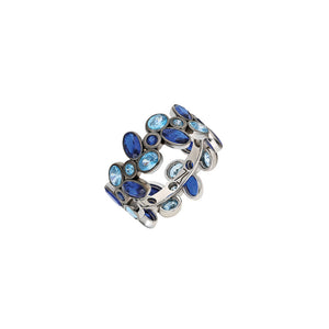 Sapphire ring. something blue. blue Diamond Ring