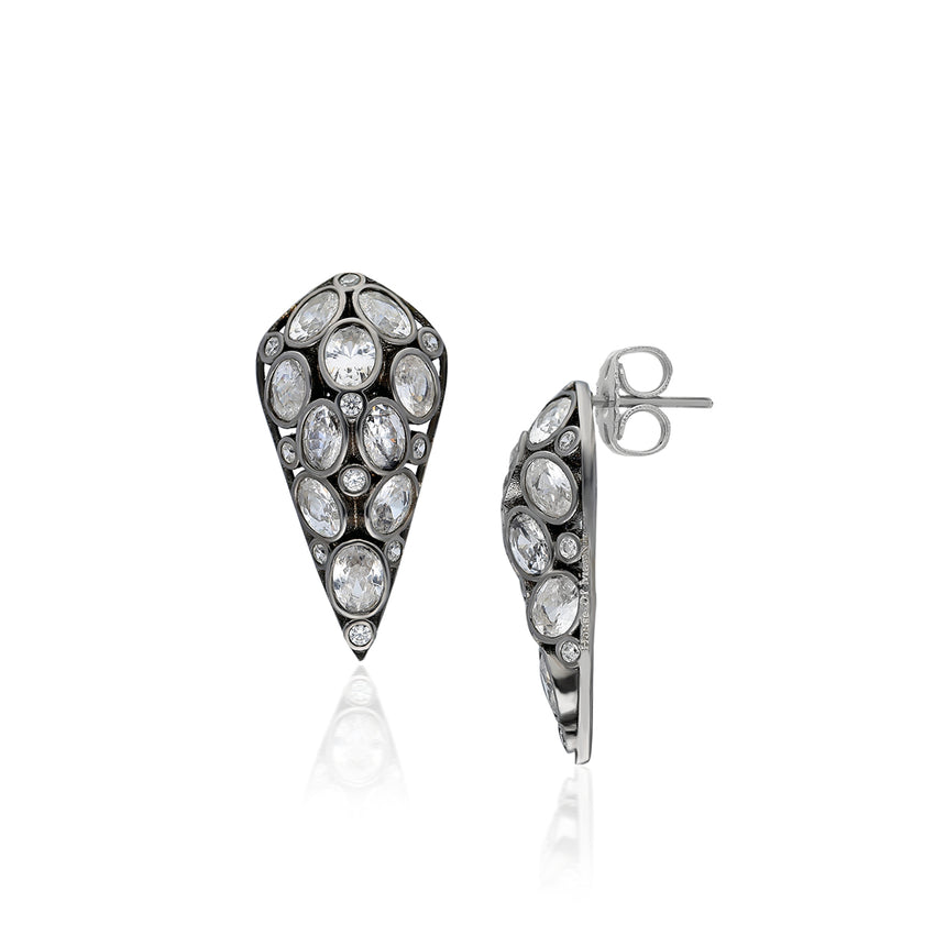 Sterling Silver Eni Earring
