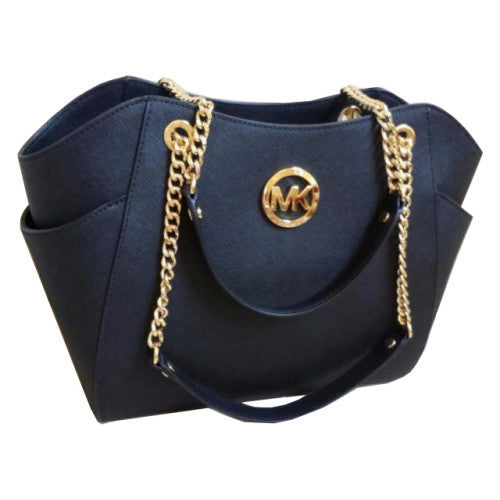 Michael Kors - Navy Jet Set Travel Shoulder Tote