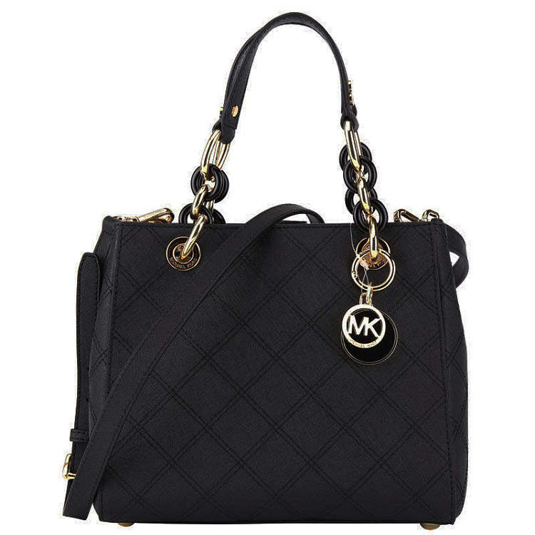 Michael Kors - Cynthia Small Black Satchel
