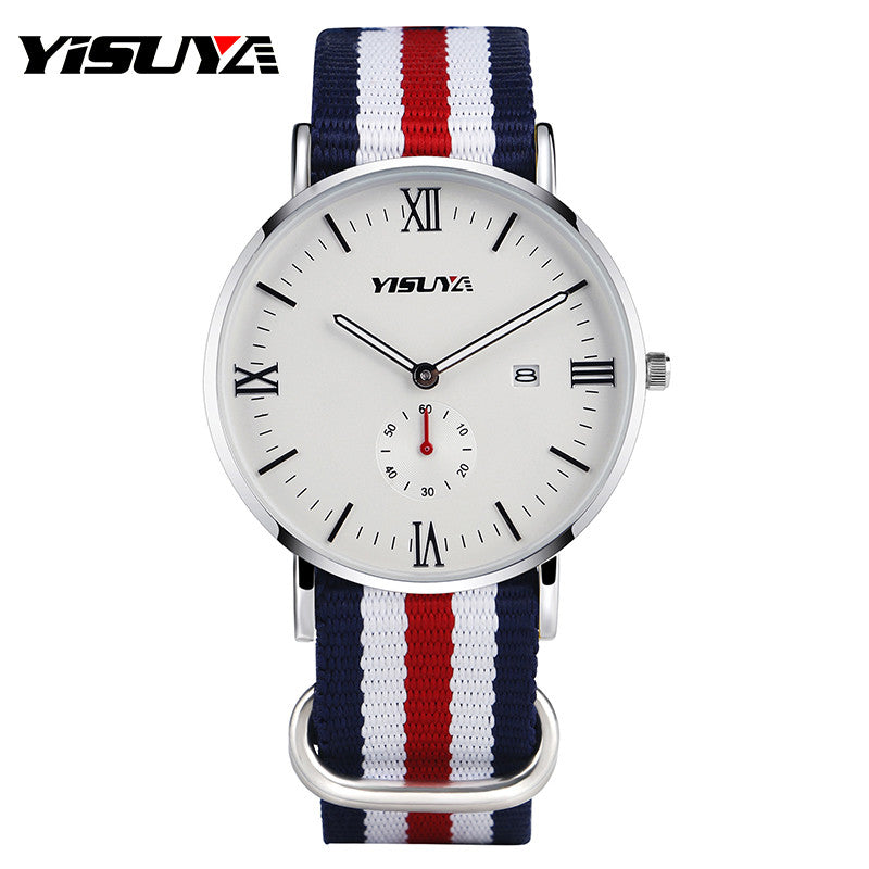 Trendy USA Themed Sport Watch by YISUYA