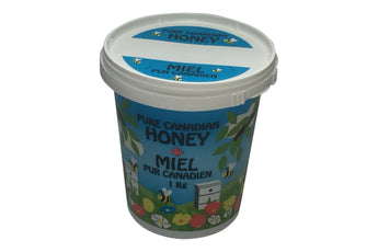 1kg Plastic Cartoon Honey Tubs
