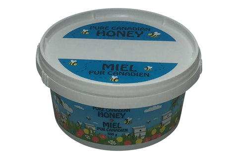 500g plastic Cartoon Honey Containers
