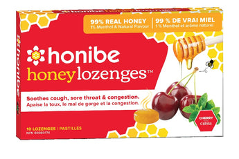 Honibe Honey Lozenges - Cherry and Menthol