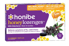 Honibe Honey Lozenges - Elderberry
