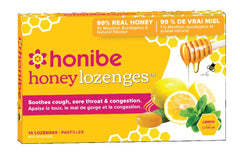 Honibe Honey Lozenges - Lemon, Menthol & Eucalyptus