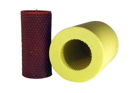 Honeycomb Cylinder Candle Mold