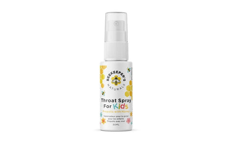 Beekeeper's Naturals Kids Propolis Throat Spray