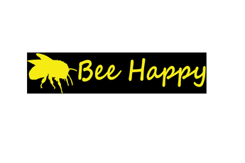 Bee Happy - Bumper Sticker