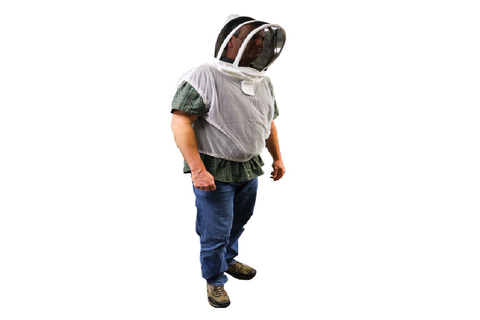 Beekeeping Vest with Hood