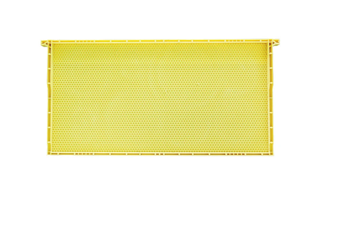 Small Cell Deep Plastic Yellow Frame
