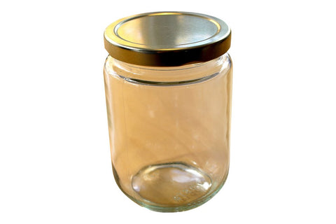 1kg Plain Glass Jar