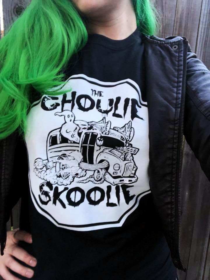 Only 3 left! Ghoulie Skoolie T-Shirt