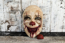 Ready to Ship-Pennywise Inspired Mask with Removable Nose