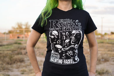 Free Gifts! Haunting Faces Shirt