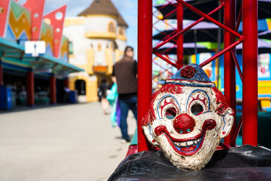 Retro Clown Mask
