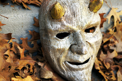 ONLY 1! Silver and Gold Dante Devil Mask