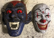 ONLY 1! Retro Jester Devil X-Large Mask