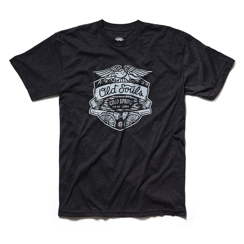 Old Souls Script Tee - Blaze Heather