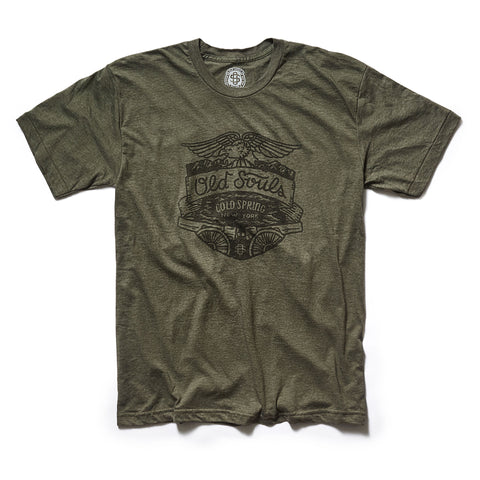 Breakneck Ridge Tee - Forest Green