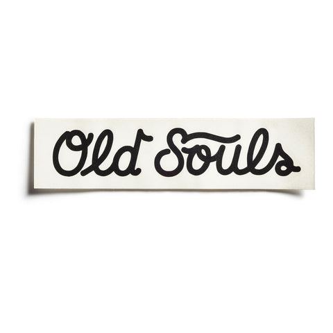 Old Souls Sticker & Pin Pack