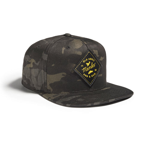 Old Souls Rod & Gun Cap Black Multicam Black Patch