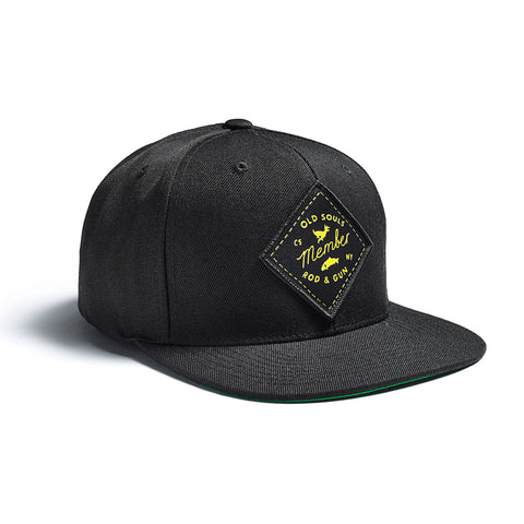 Old Souls Rod & Gun Cap Black
