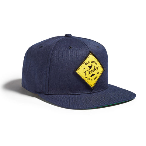 Old Souls Rod & Gun Cap Deep Navy