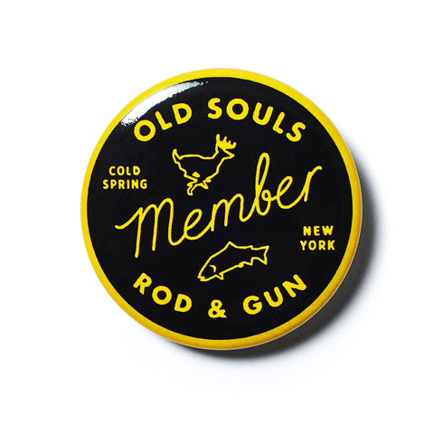 Old Souls Sticker Pin & Patch Pack