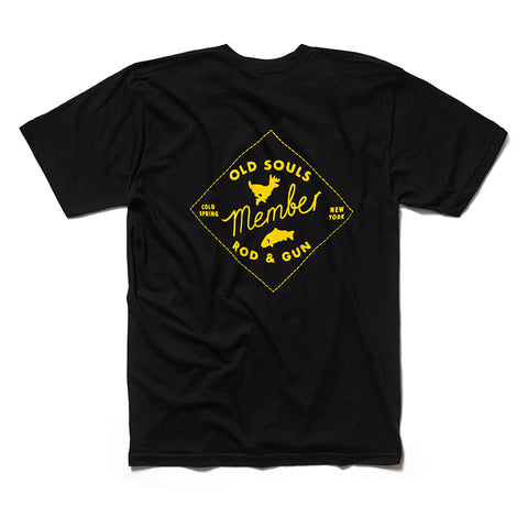 Old Souls Rod & Gun Tee - Black