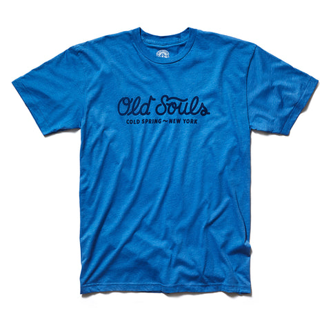 Old Souls Script Tee - Royal Heather