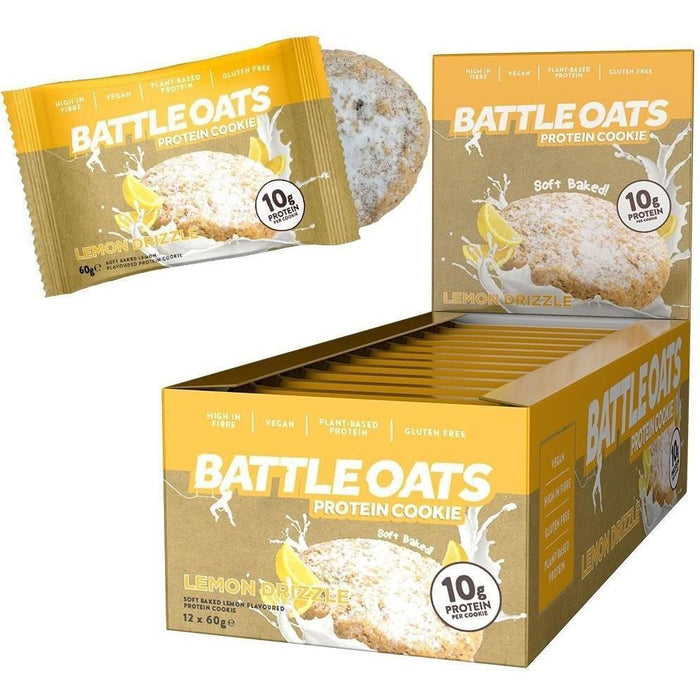 Battle Oats Protein Cookie