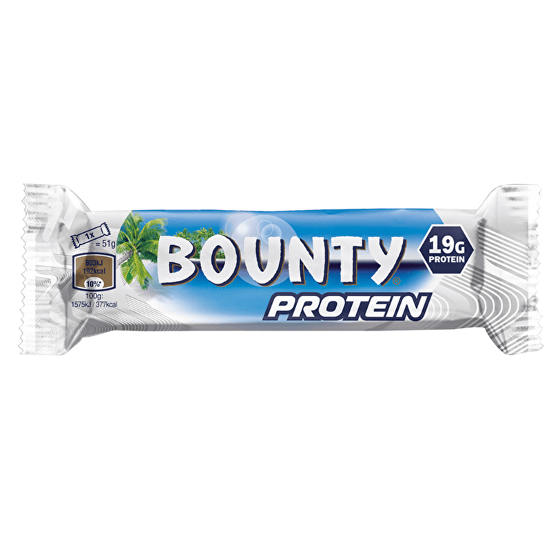Bounty Bounty Protein Bar 18x51g Protein Bars The Good Life