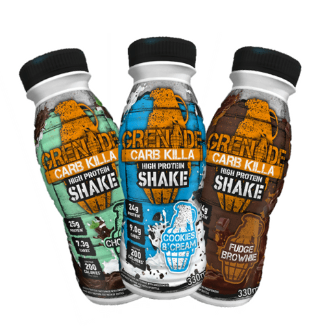 Grenade Carb Killa Protein Drink Shakes Mix & Match All Flavours