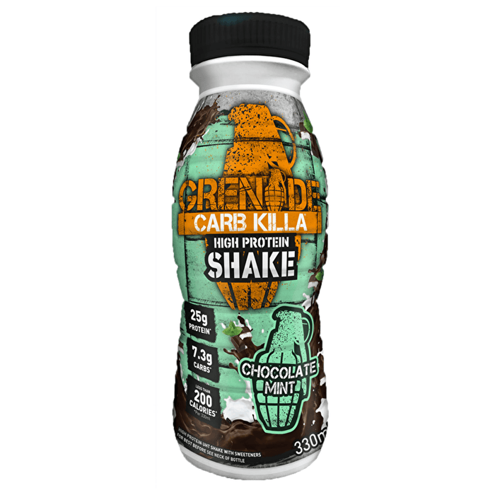 Grenade Grenade Carb Killa Protein Drink Shake 330ml / Chocolate Mint RTD The Good Life