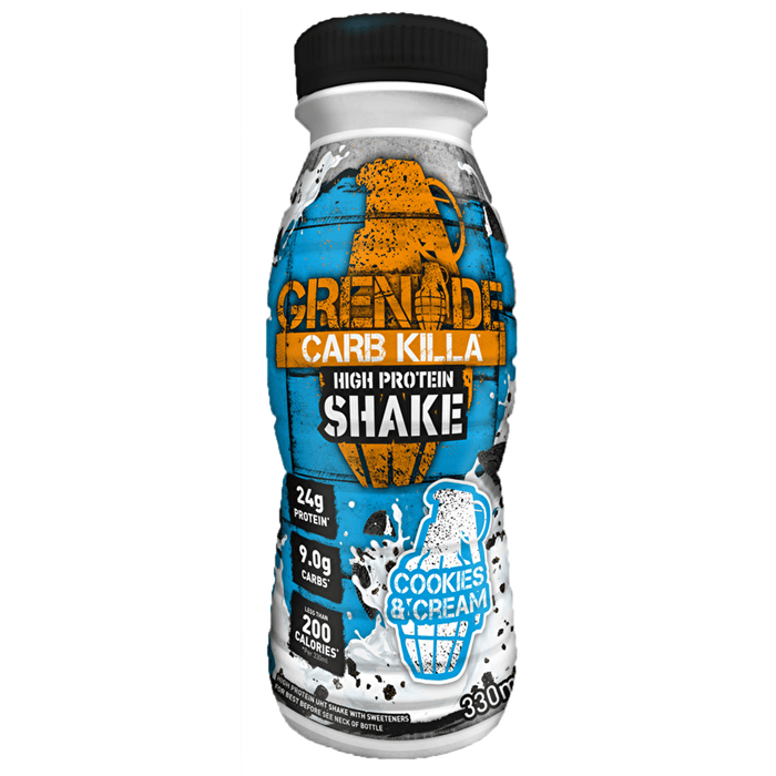 Grenade Grenade Carb Killa Protein Drink Shake 330ml / Cookies & Cream RTD The Good Life
