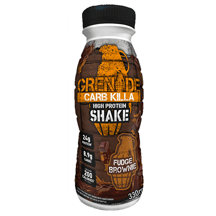 Grenade Grenade Carb Killa Protein Drink Shake 330ml / Fudge Brownie RTD The Good Life