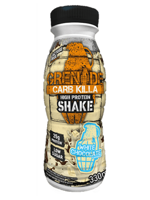 Grenade Grenade Carb Killa Protein Drink Shake 330ml / White Chocolate RTD The Good Life