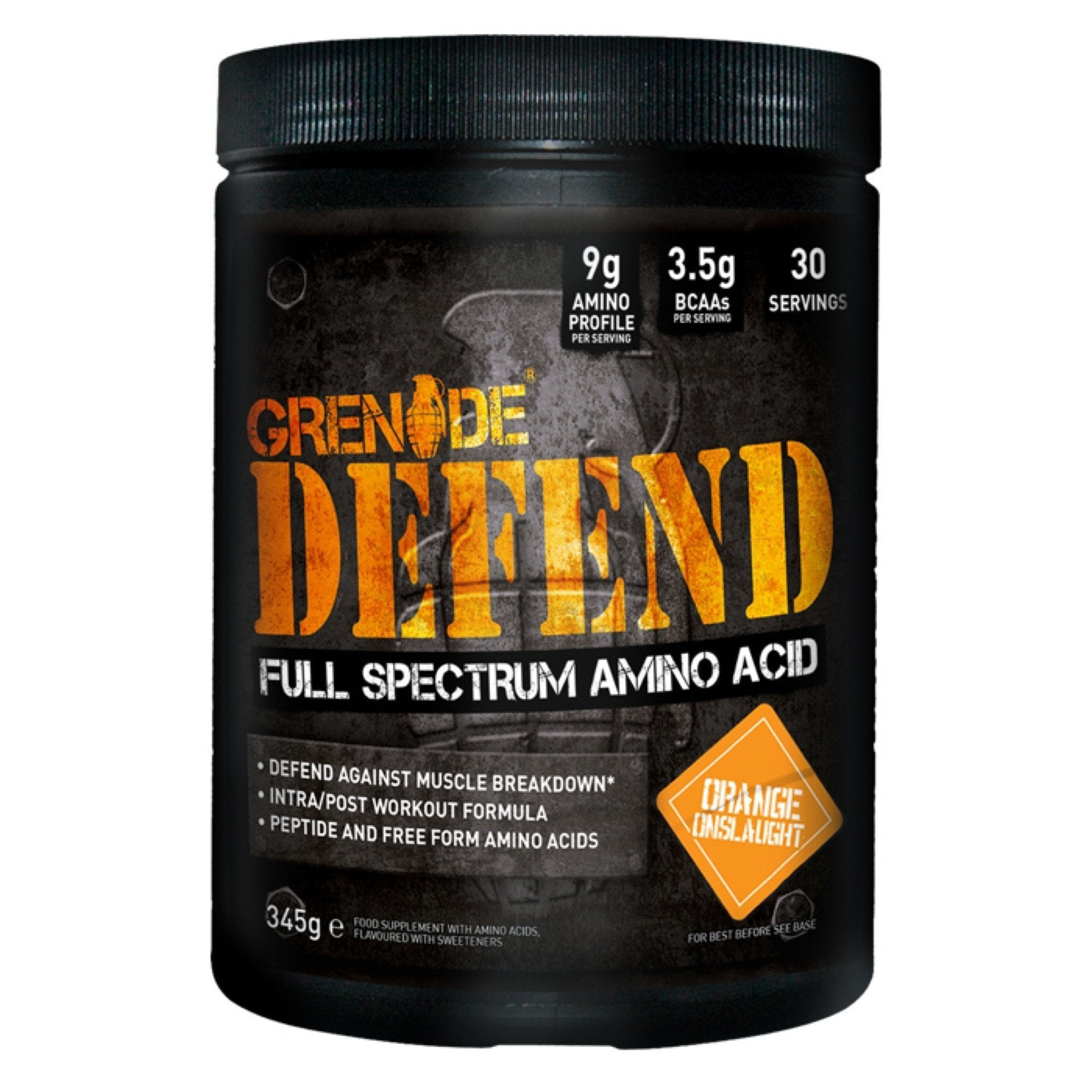 Grenade Grenade Defend 345g / Atomic Apple Amino Acids The Good Life