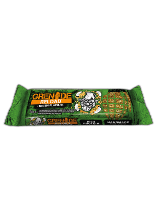 Grenade Grenade Reload Flapjacks 70g / Coconut Chaos Protein Bars The Good Life