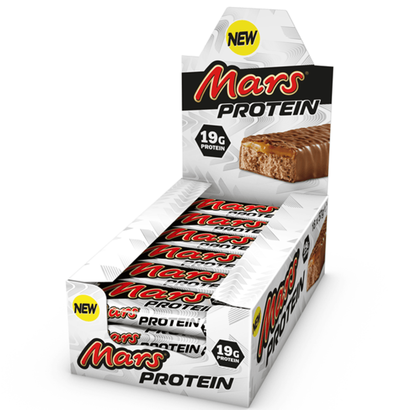 Mars Mars Protein Bar 18x57g / Chocolate Caramel Protein Bars The Good Life