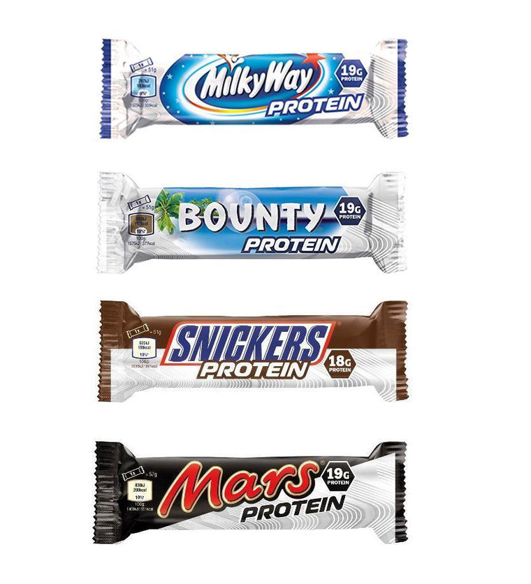 Mars, Snickers, Yorkie, Bounty, Milky Way Protein Bar Mix & Match