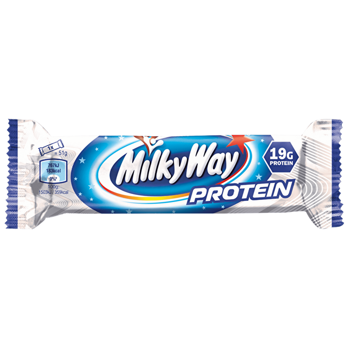 MilkyWay MilkyWay Protein Bar 18x51g Protein Bars The Good Life