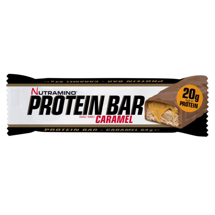 Nutramino Nutramino Protein Bar 64g / Caramel Protein Bars The Good Life