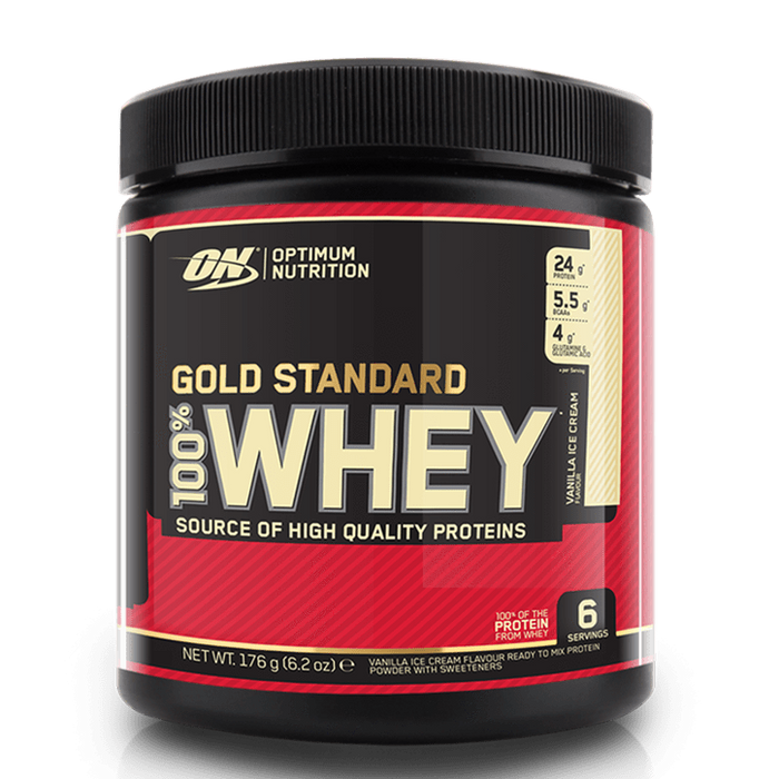 Optimum Nutrition Optimum Nutrition 100% Gold Standard Whey 182g / Vanilla Ice Cream Whey Protein The Good Life