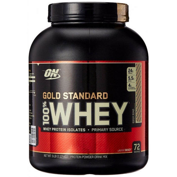 Optimum Nutrition Optimum Nutrition 100% Gold Standard Whey 2.27kg / Rocky Road Whey Protein The Good Life
