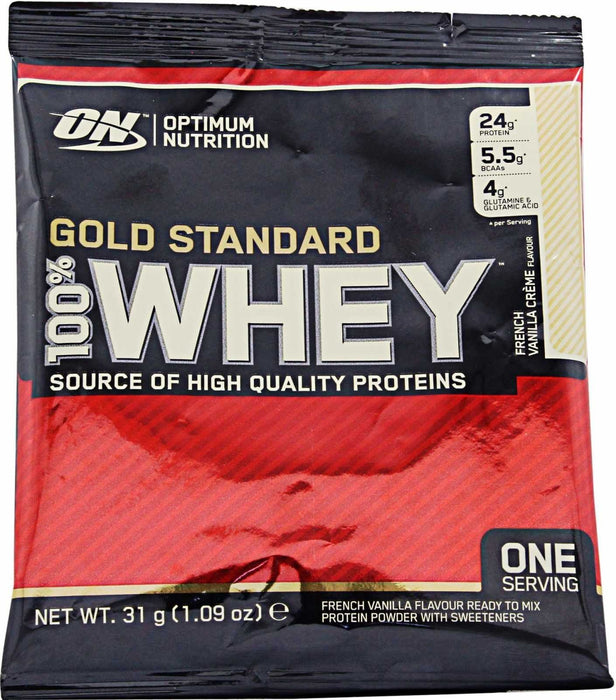 Optimum Nutrition Optimum Nutrition 100% Gold Standard Whey 30g / Vanilla Ice Cream Whey Protein The Good Life